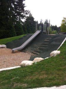 Hockaday Community Playground Hill Side