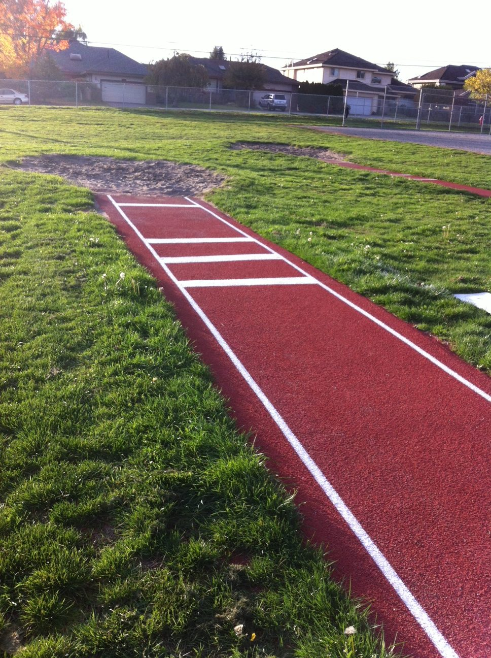 Running Tracks Marathon Surfaces