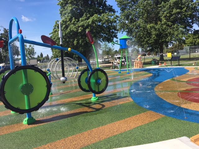 Memorial Spray Park, Ladner