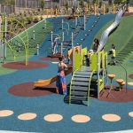 rubber playground surfacing