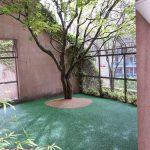 rubber courtyard